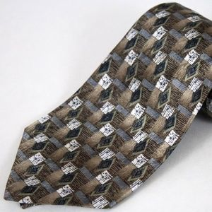 David Taylor Men's Polyester Tie Multiple Color